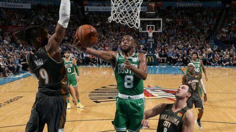 Kemba Walker y los Celtics amplían su racha triunfal