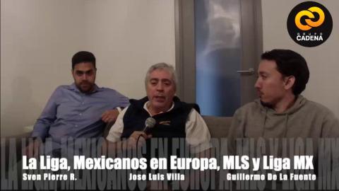 Mexicanos en Europa con José Luis Villa