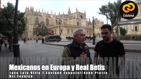 Mexicanos en Europa con José Luis Villa charla con Sven Pierre
