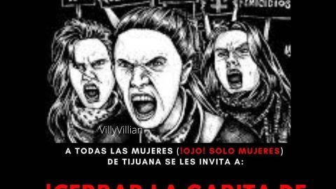 Planean cerrar Garita San Ysidro con marcha contra feminicidios