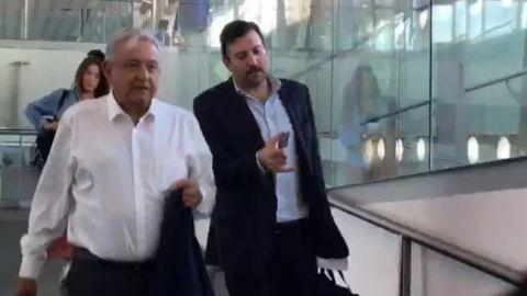 AMLO viaja a BCS junto a gobernadores de Tabasco y Yucatán