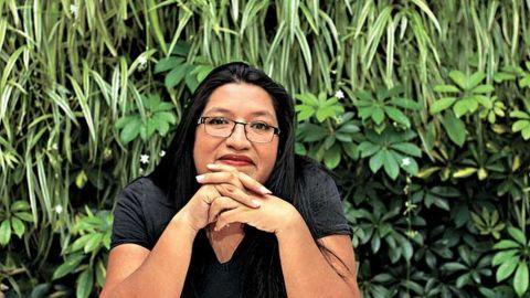 ''Actualmente, se asesinan a 10 y 11 mujeres al día'', geofísica María Salguero.