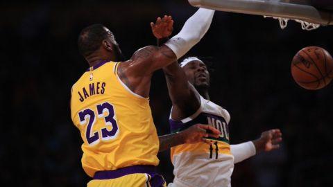 LeBron supera a Zion con 40 tantos, Lakers vencen a Pelicans