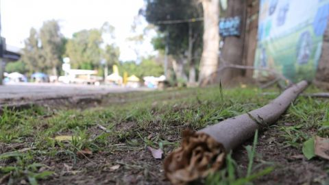 Apagones y daños por viento en Tijuana