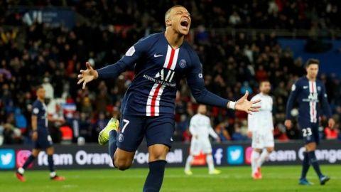 Mbappé traza la goleada del PSG
