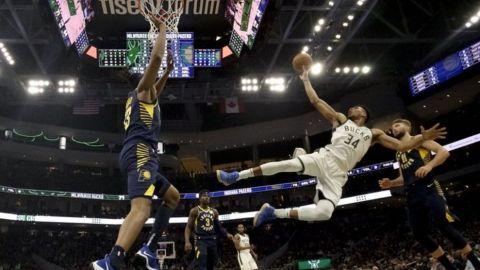 Bucks se reponen, con paliza sobre Pacers