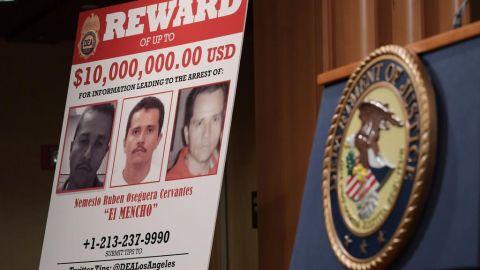 ''El Mencho'', líder del cártel Jalisco, objetivo número uno de la DEA