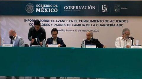 AMLO firma decreto que pensiona a víctimas de Guardería ABC