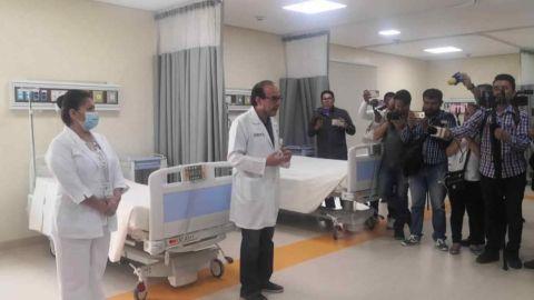 Habilitan hospital para pacientes con Covid-19 en Oaxaca