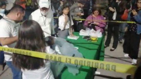 VIDEO: Realizan escrutinio de votos de Consulta Ciudadana