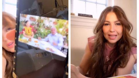 VIDEO: Thalía critica a AMLO por no respetar prevención por coronavirus