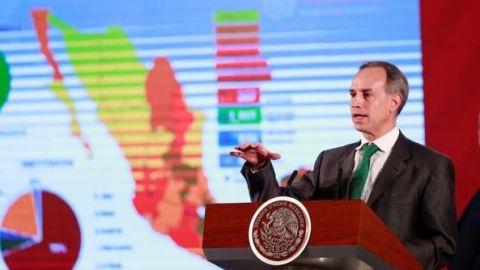 Por sana distancia, fase 3 tendrá curva menor de contagios: López-Gatell