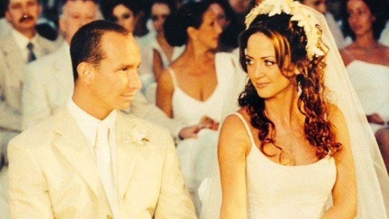 Andrea Legarreta y Erik Rubín cumplen 20 años de casados
