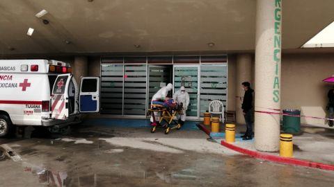 Ingresan a mujer con síntomas de COVID-19 a la cínica 20 del IMSS en Tijuana