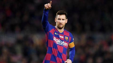 Lionel Messi agradece a personal médico