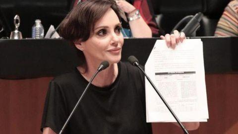 "Lilly Téllez deja bancada de Morena ""por diferencias de criterio"""