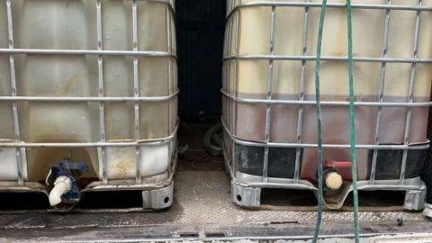 Inhabilitan tomas clandestinas y asegura 160 mil litros de gasolina
