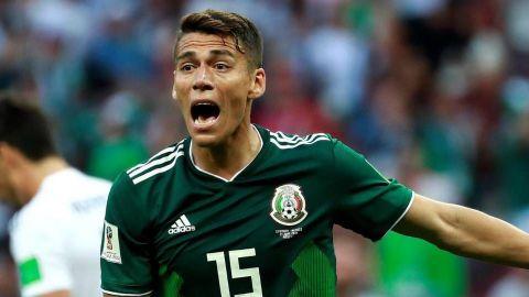 Héctor Moreno se une a la protesta de jugadores