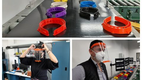 Estudiantes de Tijuana crean prototipo de careta para personal médico