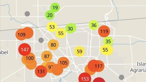 Mexicali presenta altos niveles de contaminación