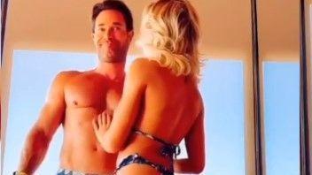 Angelique Boyer🔥 y Sebastián Rulli 😱 bailan en traje de baño, doble 🌮 de 👁️