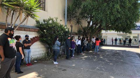 Bancos en Ensenada siguen sin respetar la Sana Distancia