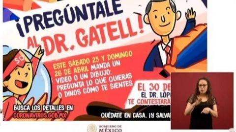 López-Gatell responderá preguntas sobre COVID-19 a niños, las mamás se emocionan