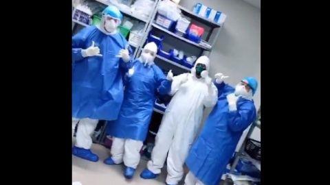VIDEO:Personal médico agradece apoyo de la población en la lucha contra COVID-19