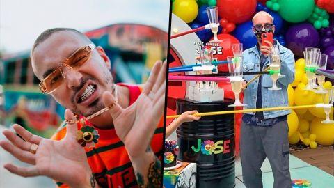 VIDEO: J Balvin celebra su cumpleaños en plena cuarentena