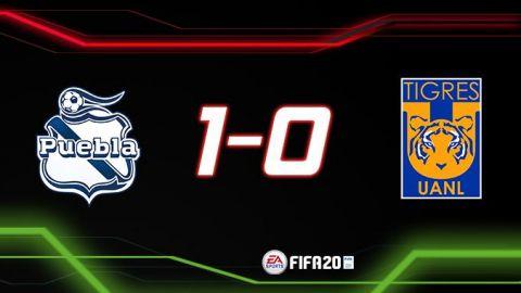 Puebla vence a Tigres en el debut de Eduardo Herrera