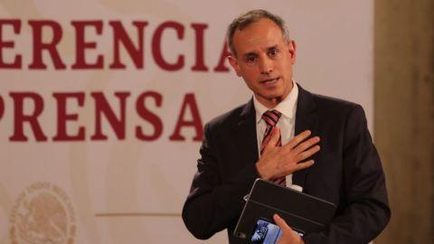 López-Gatell pide evitar visitas a mamás y abuelas por el 10 de mayo