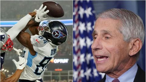 Doctor Fauci considera que los test serán la clave de que haya temporada NFL