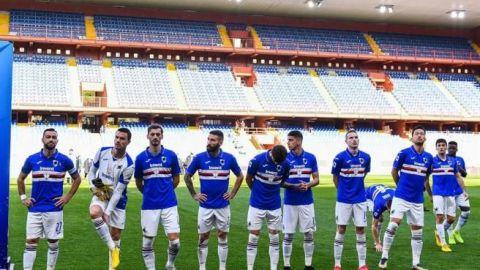 Cuatro jugadores de la Sampdoria se curan del coronavirus