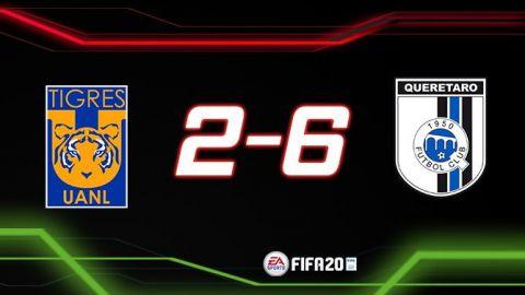 Humillan a Tigres en eLiga MX