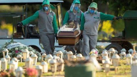México se convierte en el 9no país con más muertes; hoy se superó a Irán