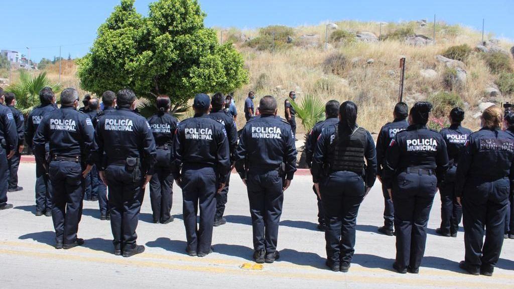 Policías de Tecate dan la espalda a funcionarios