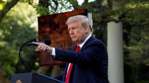 Trump le da la espalda a la OMS por su ''mal manejo'' del coronavirus