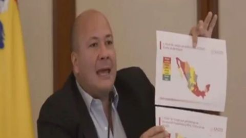 """Es increíble el nivel de cinismo de López-Gatell"": gobernador de Jalisco"