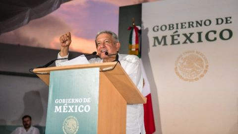 Destaca AMLO seguridad en Yucatán, en segundo día de gira