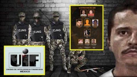 Unidad de Inteligencia Financiera va tras socios del ''CJNG''
