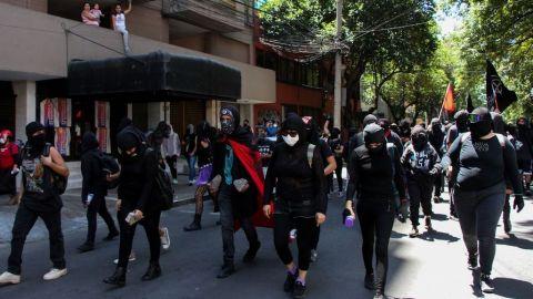 Denuncia ONU-DH posible desaparición de manifestantes en Jalisco