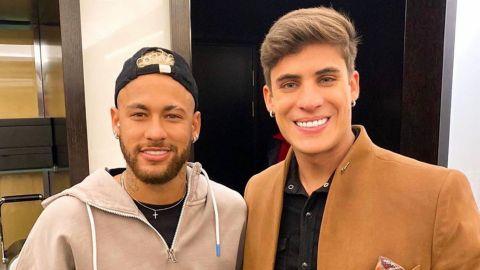 Investigan accidente doméstico del novio de la madre de Neymar