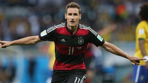 Miroslav Klose, el máximo goleador de los Mundiales