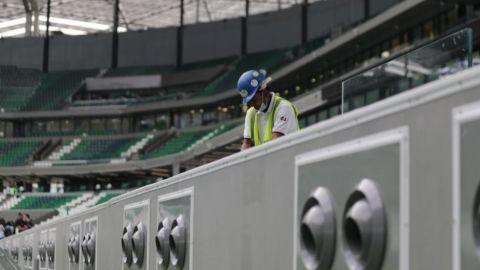 Luchan por su salario trabajadores de estadio en Qatar