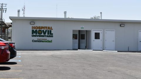 Atiende a 19 pacientes Hospital Móvil de la  UABC