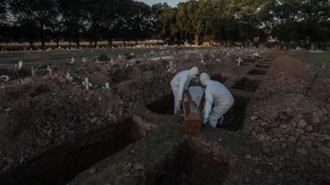 Brasil se convierte en el segundo país con más muertos por Covid-19