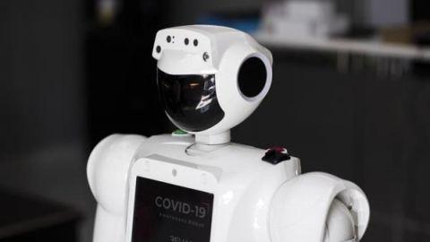 Crean robot sanitizador para hospitales con áreas Covid-19