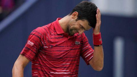 Novak Djokovic no llega a la final de su torneo