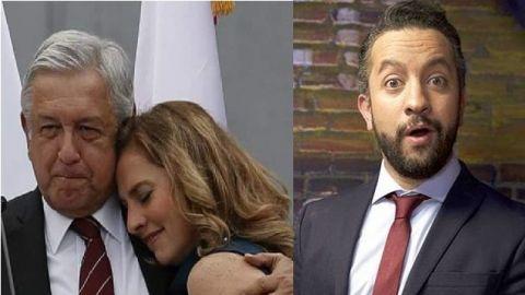''Sigo esperando una disculpa pública'' le reclama esposa de AMLO a Chumel