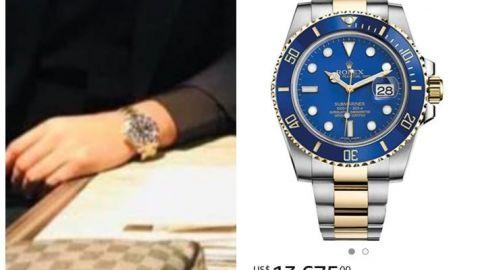 Funcionario de la 4T en Baja California con lujoso reloj de 273 mil pesos